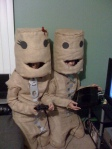 Sackboy and Sackgirl (Little Big Planet)