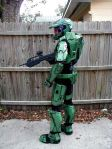 Master Chief is protecting the fence (Halo)