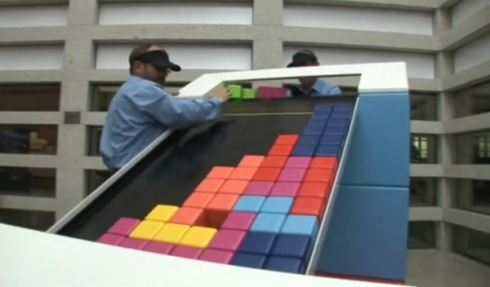 Analog Tetris 3